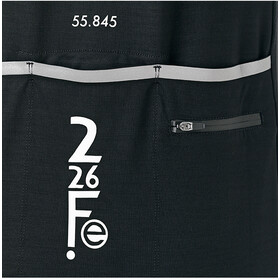 Fe226 DryRide Bike Jersey Korte Mouwen, zwart